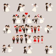 Wedding Clipart, Wedding Invitation, by AndriuhaUNEX on Etsy
