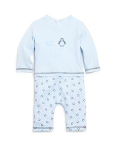 Absorba Infant Boys' Penguin Coverall - Sizes 0-9 Months