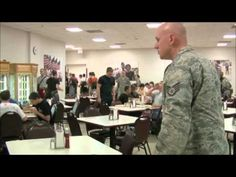 Air Force BMT Zero Week Lunch (The nice version I hear bc camera crew was there.)