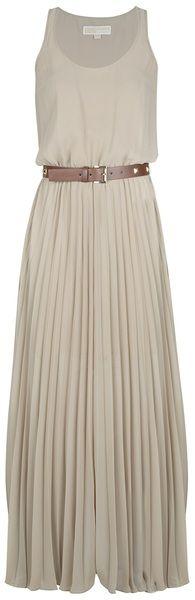 Pleated Dress - Lyst