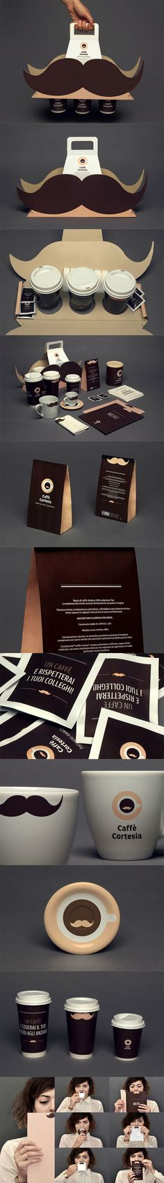 @Packaging of the World: Creative Package Design Archive and Gallery: Caffè Cortesia