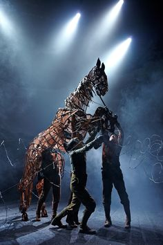War horse review by Jo!  (@JaegerBooth)  Read more here -http://mystudentstyle.co.uk/2013/12/16/review-war-horse-the-lowry-manchester/