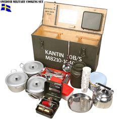 【WIP】希少品 実物 新品 スウェーデン軍クッキングセット様々な調理や食事に使うアイテムが入ってます非常に希少なコレクターアイテム【楽天市場】