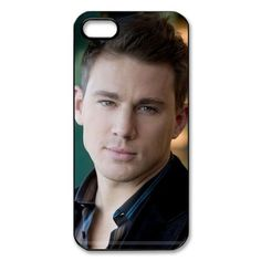 """Channing Tatum iPhone 5 Case Hard Back Cover Fit Cases NMPC2108 - These cases fits the iPhone 5. The printable insert is 4.86"""" x 2.29"""" for your logo, picture and/or text. The image is sublimated (baked) into the surface of the aluminum insert which i"""
