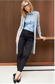 7f23bffc2eb 30 Lovely Cardigan Outfit Ideas This Winter. Vetements ClothingWinter  Professional OutfitsCasual ...