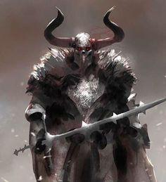 #dark #warrior #30minutes #speedpainting . YouTube link in bio for tutorials. . #photoshop #painting #digital #art #sketch #armour…