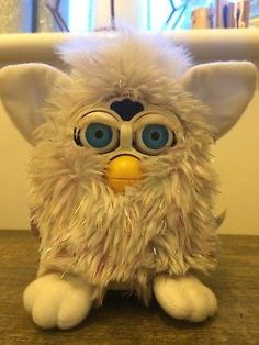 Original Furby Rare Glitter Tiger Electronic Toy Robotic