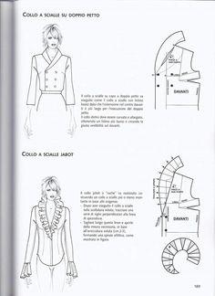 Este posibil ca imaginea să conţină: 1 persoană Bodice Pattern, Collar Pattern, Pattern Cutting, Pattern Making, Clothing Patterns, Sewing Patterns, Sewing Collars, Modelista, Dress Making Patterns