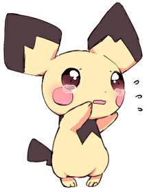 #Pichu ~ Just wanna cuddle him poor baby <3