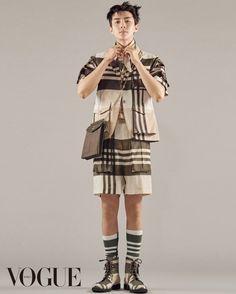 Sehun makes even strange fashion look good for 'Vogue' | allkpop.com