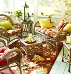 Spice up your outdoor space with our classic Angelique pattern
