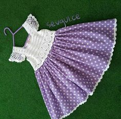 "diy_crafts- ""Elif öndeş \""Elif öndeş \""Discover thousands of images about\"" \""This post was discovered by Nur\"""", ""How to Crochet Baby Tod Girls Knitted Dress, Crochet Dress Girl, Crochet Girls, Crochet Baby Clothes, Crochet For Kids, Crochet Dresses, Baby Knitting Patterns, Knitting For Kids, Crochet Patterns"