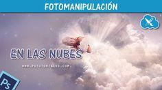 En las nubes - Photoshop Tutorial