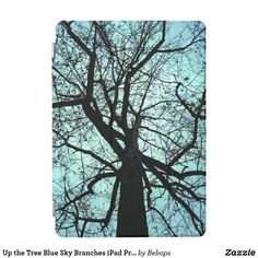 Up the Tree Blue Sky Branches iPad Pro Case