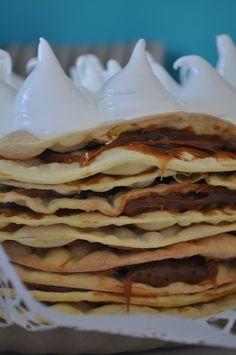 Torta Rogel Icing, Pancakes, Bakery, Cheesecake, Cookies, Breakfast, Ethnic Recipes, Desserts, Mayo