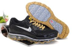 Man Nike Air Max 09+90 Skor Svart Brun 60780