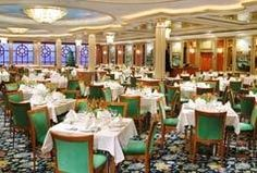 The Norwegian Dawn! A beautiful cruise ship with 13 different restaurants, 9 bars, 3 pools and plenty more! See you there?