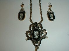 gorgeous juliana antiqued gold tone hematite by fadedglitter42263, $158.00