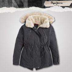 ¿Qué tal esta chamarra de Pepe Jeans Antara para la temporada de frio?