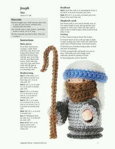 Pesebre crochet patron 4
