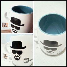 #Heisenberg #WalterWhite #BrakingBad #Tazas #Mugs / FA - Diseño y Creaciones
