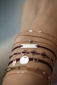 Anna Inspiring Jewellery armcandy in rose gold