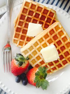 Gluten-Free Waffles. Easy Sunday Morning Treat, For The Whole Family. YUM