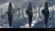 Spaceship Art, Spaceship Design, Spaceship Concept, Robot Concept Art, Robot Art, Space Fantasy, Fantasy Concept Art, Sci Fi Fantasy, Armas Wallpaper