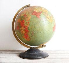Distressed Globe.