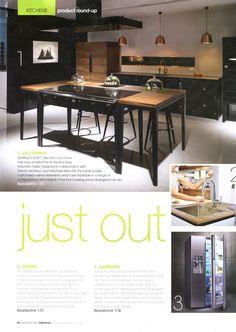 La Cornue adds to its La Cornue W. collection www.lacornue.com Kitchen & Bathroom News July 2014
