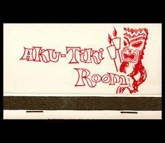 Aku-Tiki Room was located at the Andris Waunne Farm Restaurant, in Kewanee IL.