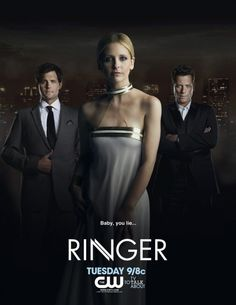 Ringer....  makes me soo mad that they cancelled it after one season. This was becoming my new favorite show!
