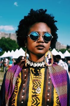 fuji4bdc: ©Melissa Bunni Elian | Bronx Photo LeagueFrom a portrait series Melissa Bunni Elian shot at the Afropunk Festival 2014. You can see the work showcased on the Afropunk blog.