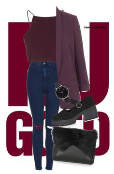 """""""Untitled #130"""" by kidrauhleer on Polyvore featuring Topshop"""