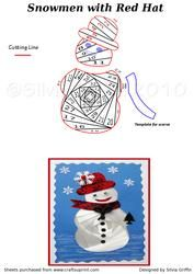 View Snowmen with Red Hat Details