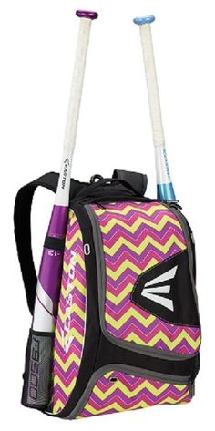Easton E100XLP Chevron Bat Pack Backpack Equipment Bag Baseball / Softball New! #Easton