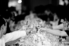 Wedding Toast Tips - The Art of Giving a Gentlemanly Toast - Thrillist