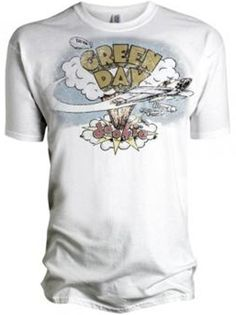 Vintage Band Tees - Green Day T-shirt - Vintage Style - Vintage Fashion - http://www.band-tees.com/store/G_00700_179!BRVDO/Green+Day+Vintage+Dookie+T-shirt