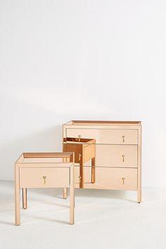 Gracemere Mirrored Three Drawer Dresser