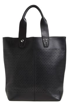 rag & bone 'Flight' Perforated Leather Tote available at #Nordstrom