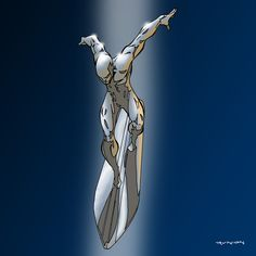 Silver Surfer by Andrew Runion ross marvel frost four ramos kirby lee deodato surfer bianchi men Comic Book Characters, Comic Book Heroes, Comic Books Art, Comic Art, Marvel Characters, Marvel Comics, Marvel Art, Anime Comics, Ms Marvel