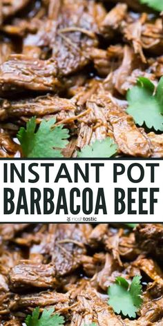 Instant Pot Barbacoa Beef better than Chipotle! quick and easy recipe to make it's gluten free keto and low carb. Instant Pot Barbacoa Beef better than Chipotle! quick and easy recipe to make it's gluten free keto and low carb. Best Pressure Cooker, Pressure Cooker Recipes, Barbacoa Recipe Pressure Cooker, Potted Beef Recipe, Instant Pot Dinner Recipes, Instant Pot Meals, Tender Meat, The Fresh, Quick Easy Meals