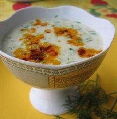 Naneli Kabak Çorbası Tarifi Turkish Recipes, Ethnic Recipes, C'est Bon, Cute Food, Soup Recipes, Mashed Potatoes, Pudding, Homemade, Cooking