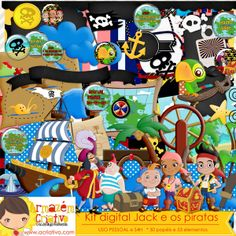 Inspirado em Jake e os piratas http://acriativo.com/loja/index.php?main_page=product_info&cPath=34&products_id=970