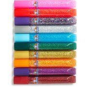 Elmers 3D Washable Glitter Pens 10/Pkg-Classic Rainbow