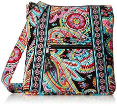 Vera Bradley Hipster Cross Body Bag, Parisian Paisley, One Size * For more information, visit image link.