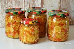 Zimowe ogórki męża Coleslaw, Mason Jars, Food And Drink, Tasty, Diet, Canning, Recipe, Food And Drinks, Cooking
