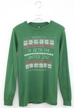 Christmas Pi Beta Phi sweater #piphi #pibetaphi