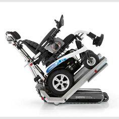 La oruga más completa. La Sherpa N909TM permite, mediante sus rampas, acoplar sillas de ruedas eléctricas. http://www.cuiddo.es/oruga-silla-electrica-sherpa-n909.html