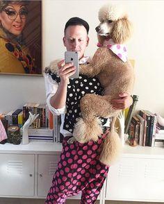 . #commedesgarcons  #peoplewearingcommedesgarcons  #pwcdg  #コムデギャルソン  #川久保玲 #reikawakubo #fashion  #streetstyle #cdgmet  #metkawakubo #poodle  #labradoodle  #dog  #dogs #dogsofinstagrampeoplewearingcommedesgarcons